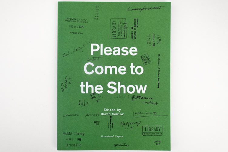 Please Come to the Show by David Senior