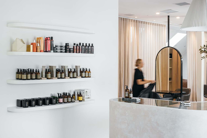 Polly and Stone Sydney Hair Salon Designed by Studio Highfield