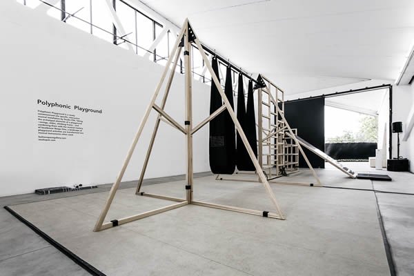 Polyphonic Playground x Studio Wayne Mcgregor at Here East, London