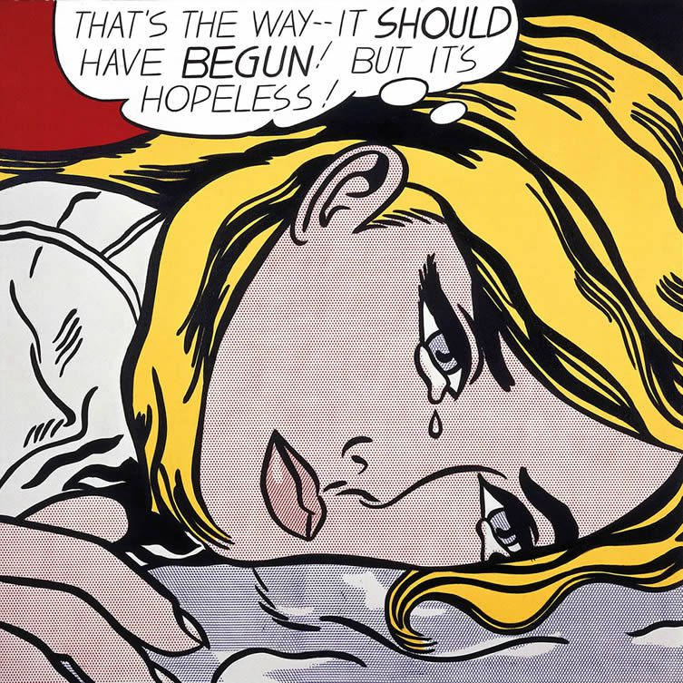 Roy Lichtenstein, Hopeless, 1963