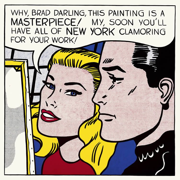 Roy Lichtenstein, Masterpiece, 1962