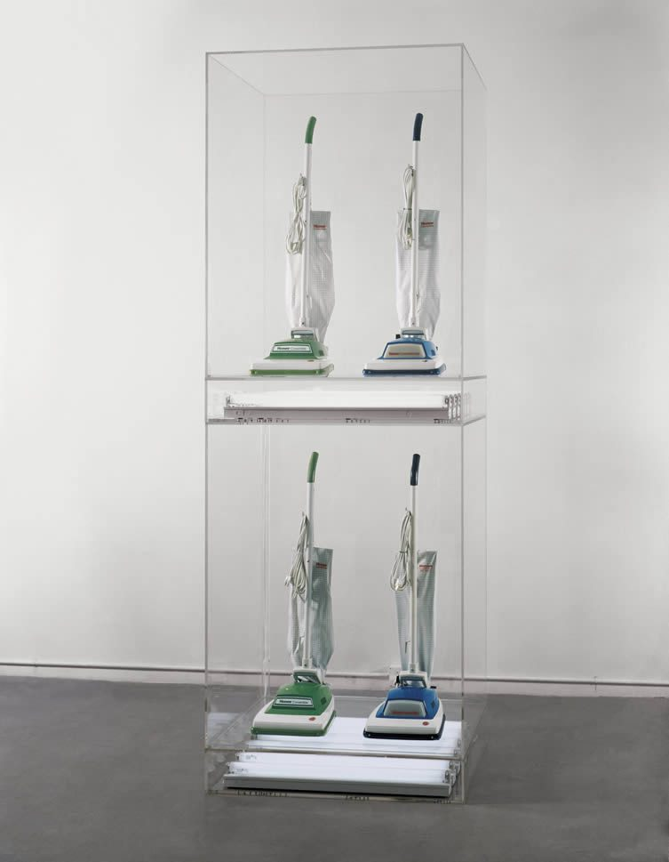 Jeff Koons, New Hoover Convertibles Green, Blue, New Hoover Convertibles, Green, Blue Doubledecker, 1981–87