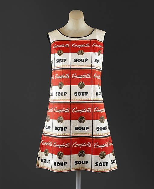 Andy Warhol, The Souper Dress, 1966–67