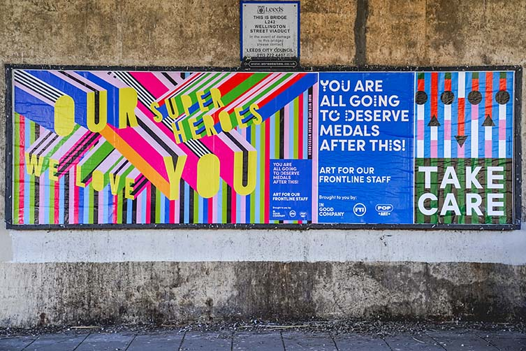 Posters for the People Leeds Street Art Project by In Good Company