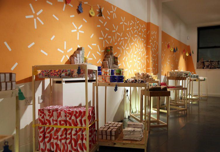 The Poundshop Christmas Takeover — KK Outlet, Hoxton Square
