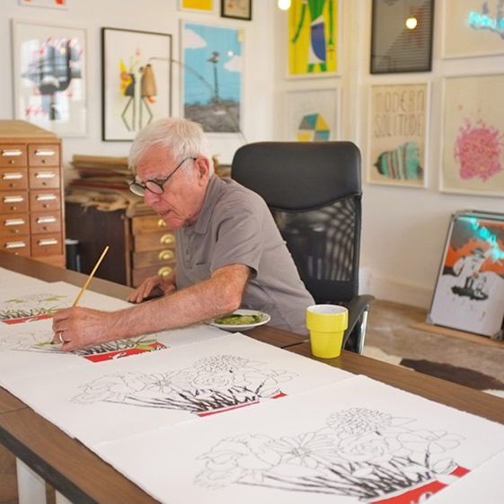 Print Club X Bob Gill
