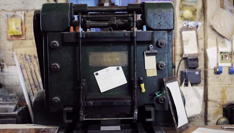Print: Four Generations of Die Stamping