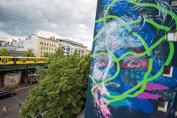 Askew mural