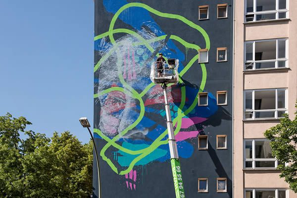 JUSTKIDS and StreetArtNews presents Project M/9 Colors at Urban Nation, Berlin