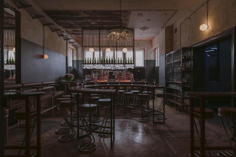 Próżność Klub Poznań, Club Space Designed by wiercinski-studio