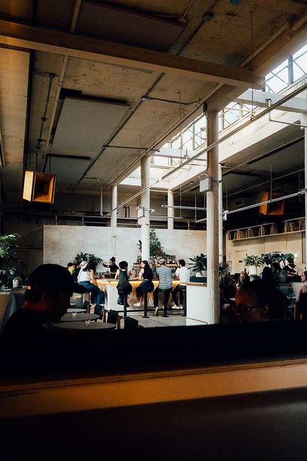 Public Records Brooklyn, New York Hi-Fi Café Bar and Sound Room