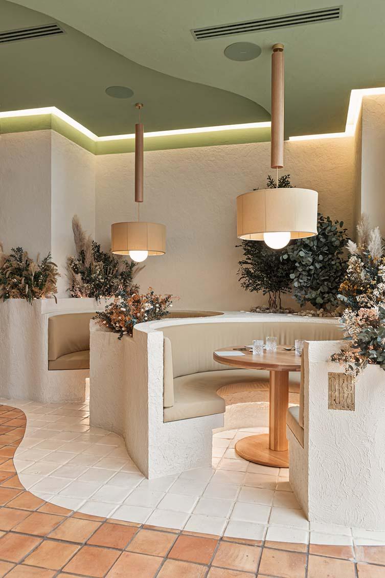 Huesca Wellness Restaurant Designed by Masquespacio