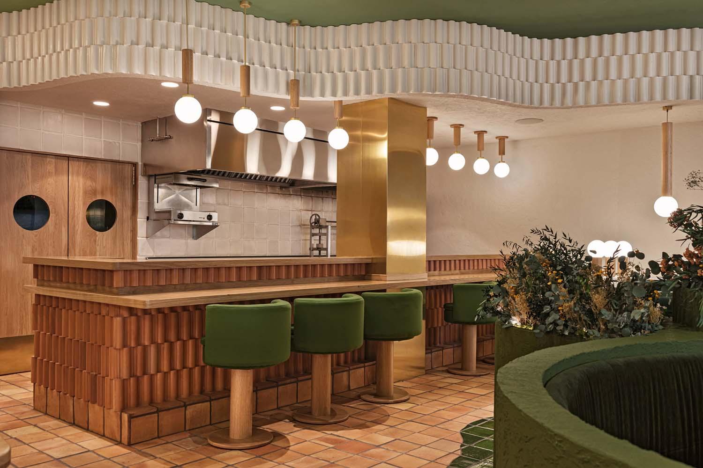 Pukkel Huesca, Wellness Restaurant Designed by Masquespacio