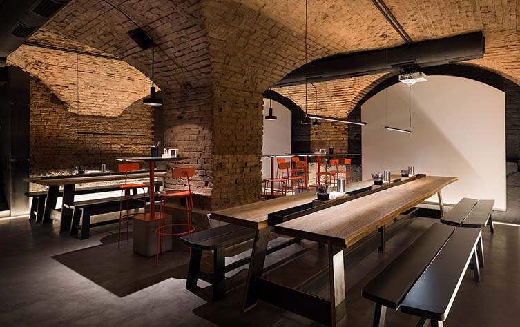 Punkraft Kiev, Designed by ater.architects: Kiev Craft Beer Bar