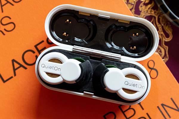 QuietOn Original, Innovative Active Noise Cancelling Earplugs & QuietOn Sleep