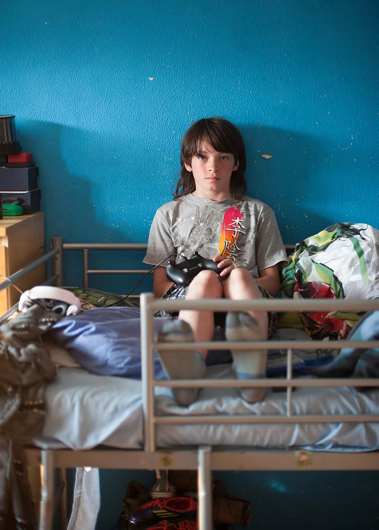 Rachel Molina, Seen But Not Heard Photography Series