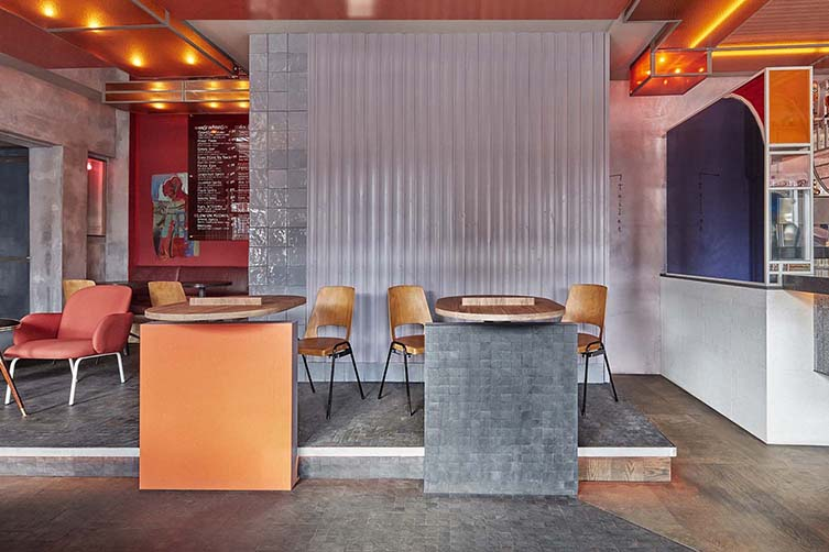 Ramona Amsterdam West Bar Designed by Studio Modijefsky, Ramona Oud West