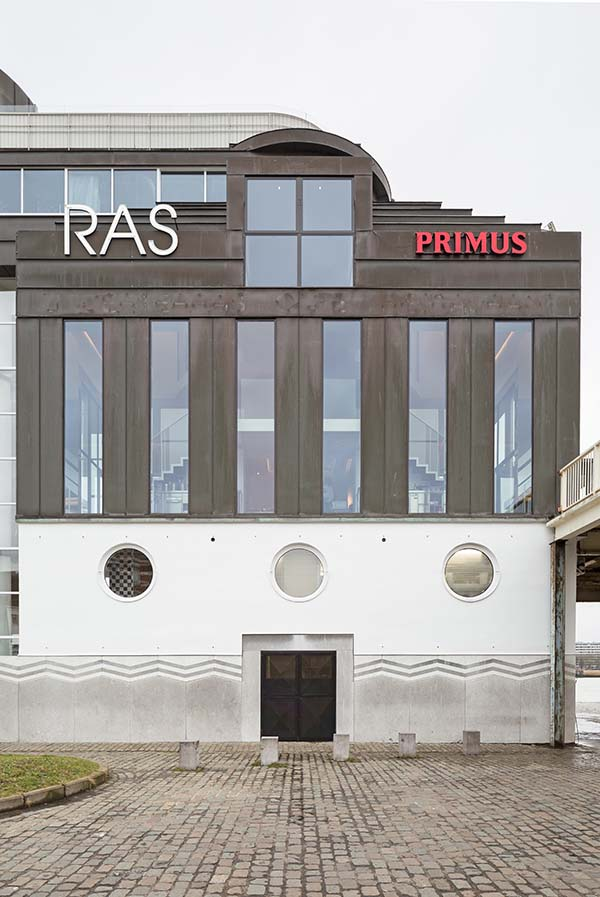 RAS Restaurant Antwerp Aan de Stroom, Architect Bob Van Reeth and Co.Studio