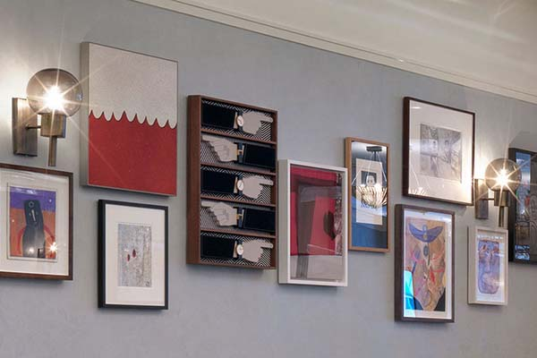 Redchurch Townhouse Art Collection, 40 Under 40 East London-based Artists at Soho House