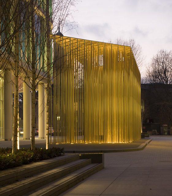 Regent's Place Pavilion by Carmody Groarke
