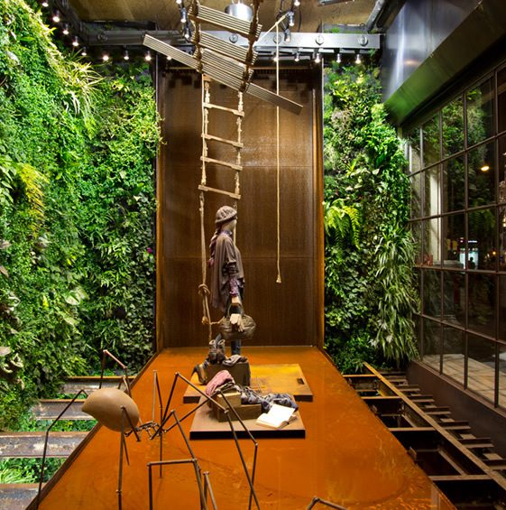 Vertical Garden Installation, Replay Barcelona