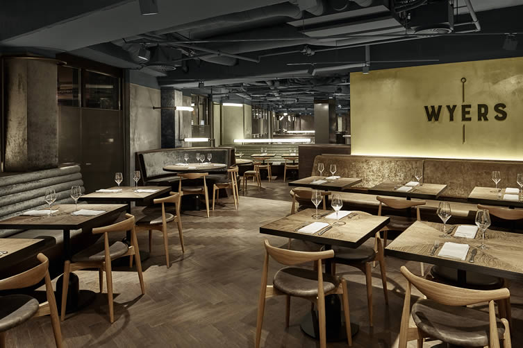 Wyers Amsterdam, Bar and Restaurant at Kimpton De Witt Hotel, Amsterdam