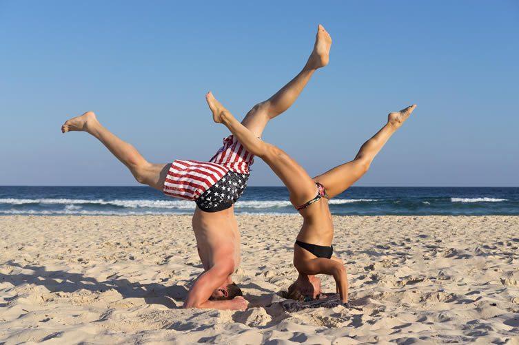 Beach Yoga, Bondi