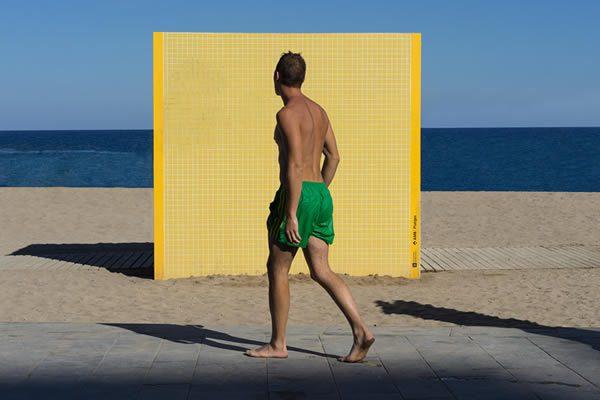 Rex Dupian, Sunscreen Celebrities at Bondi Pavilion Gallery Sydney
