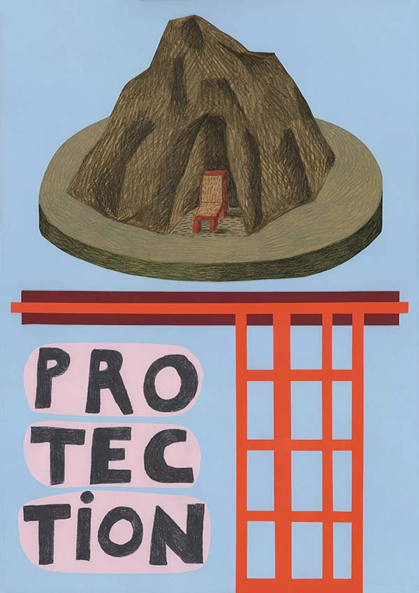 Riposte x Amnesty International UK, Protection: Nathalie du Pasquier