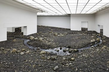 Olafur Eliasson — Riverbed at Louisiana Museum of Modern Art