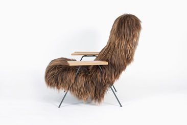 Robin Day Reclining Chair by Ilse Crawford