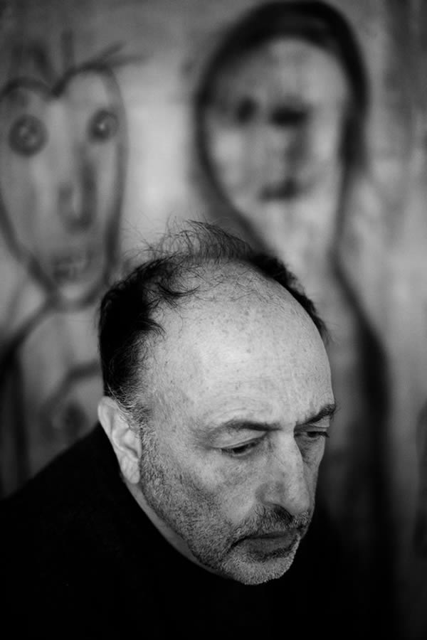 Roger Ballen by Marguerite Rossouw