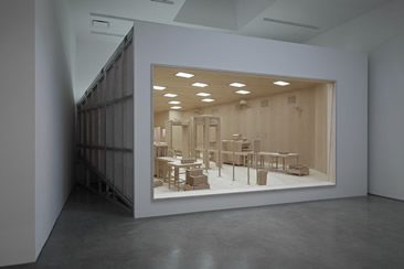 Roxy Paine — Denuded Lens at Marianne Boesky Gallery, New York