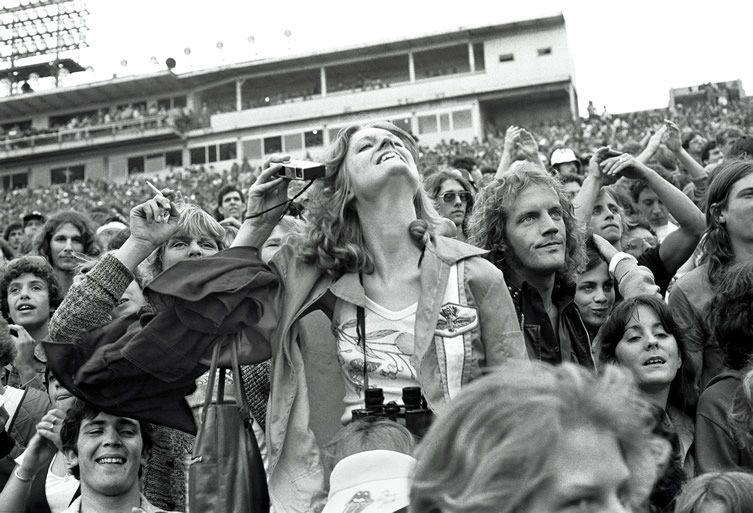 Rolling Stones Fans by Joseph Szabo