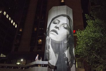 Rone — Lumen at 109 Little Collins Street, Melbourne
