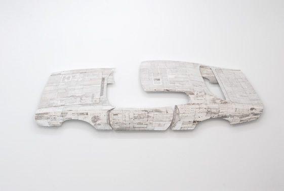 Ron Van Der Ende's Found Wood Sculptures