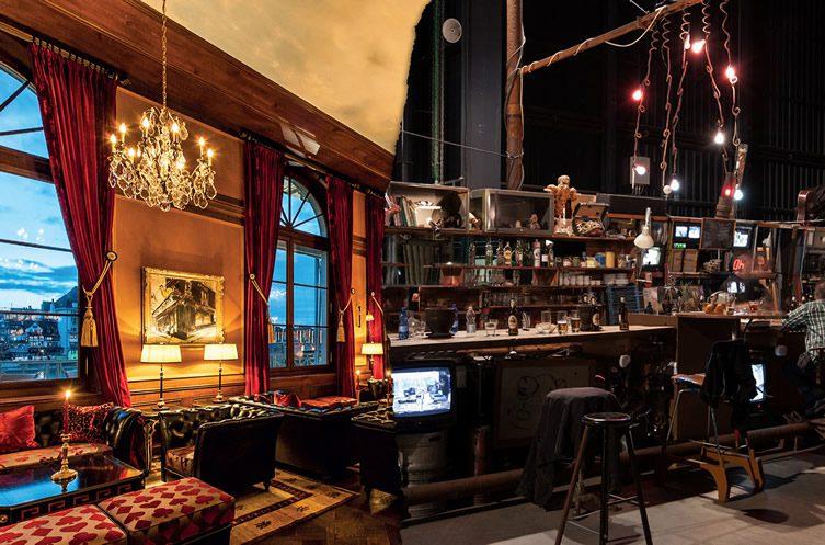 Roth Bar at Les Trois Rois Art Basel 2015