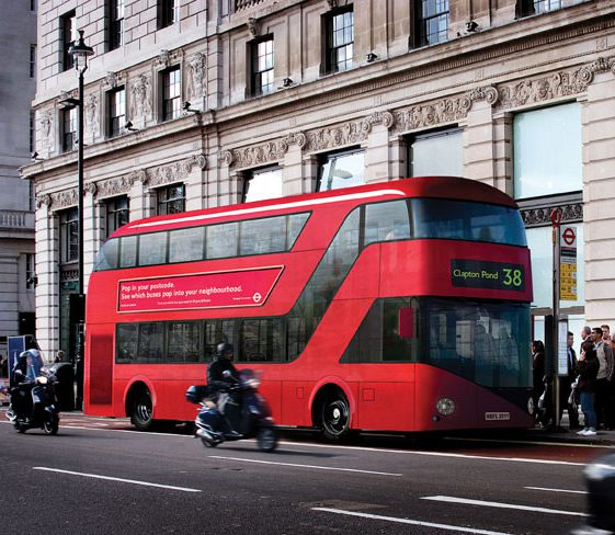 London's New Routemaster Bus Design