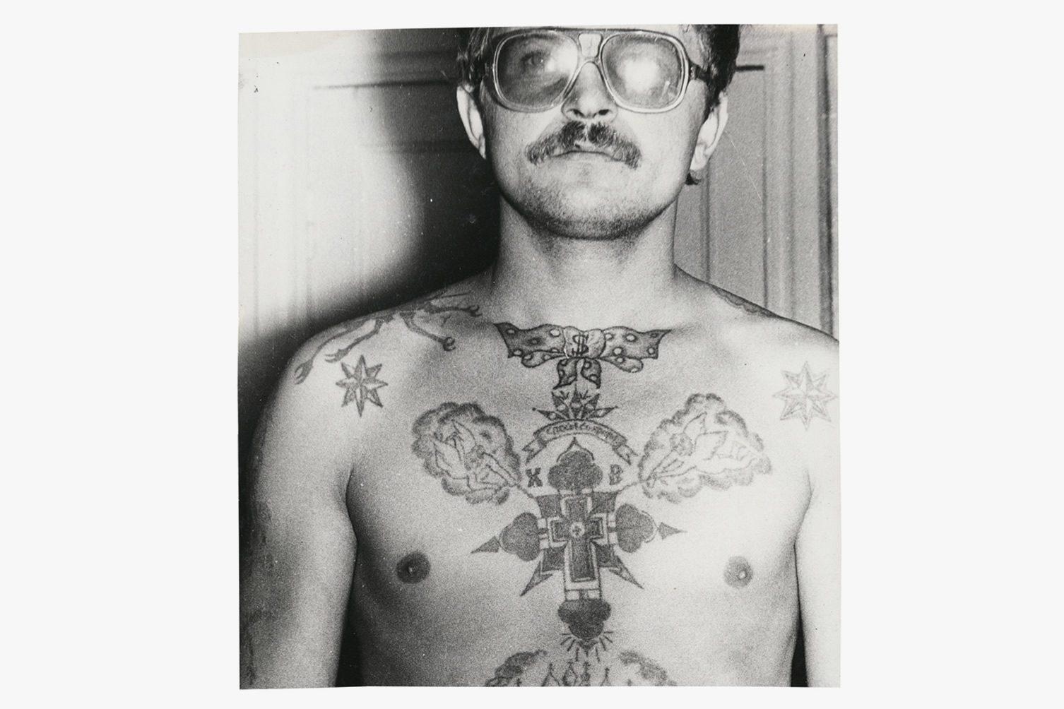 Arkady Bronnikov Russian Criminal Tattoo Police Files