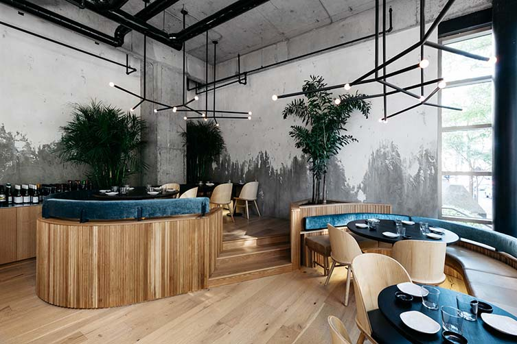 Ryú Westmount, Montreal Japanese Restaurant, Ryu by Ménard Dworkind Architecture and Design