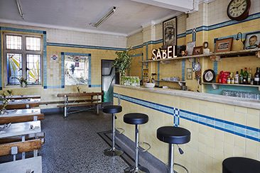 Sabel at F. Cooke — Broadway Market