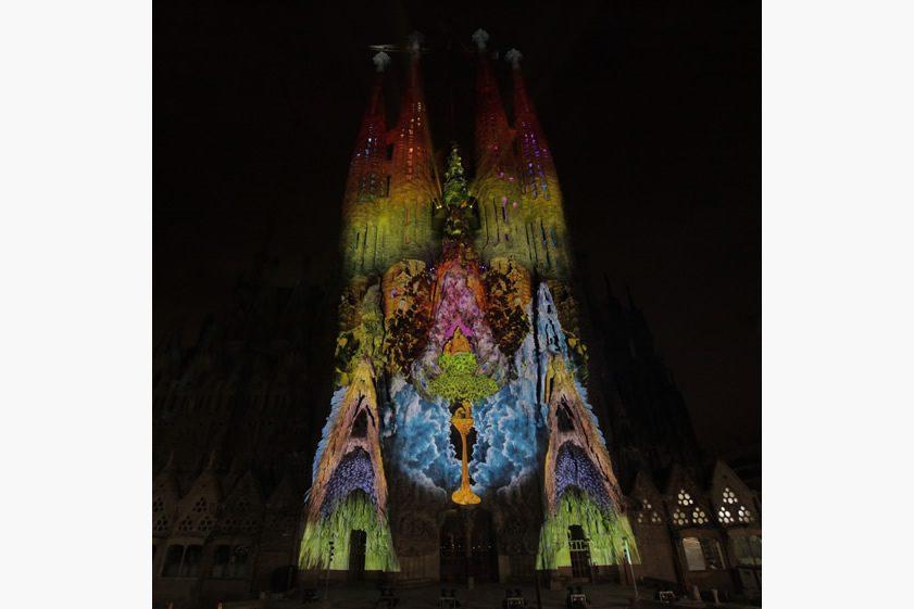 Ode à la Vie, Sagrada Família