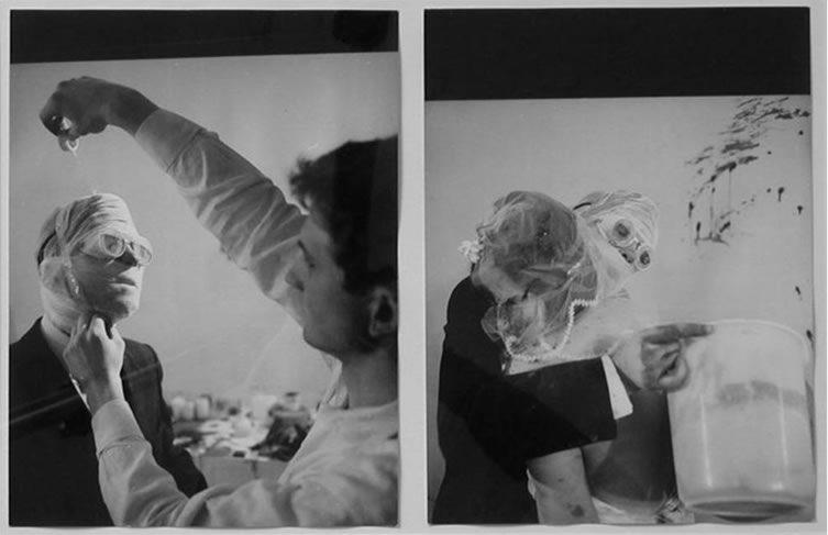 Rudolf Schwarzkogler 1. Aktion, 1965