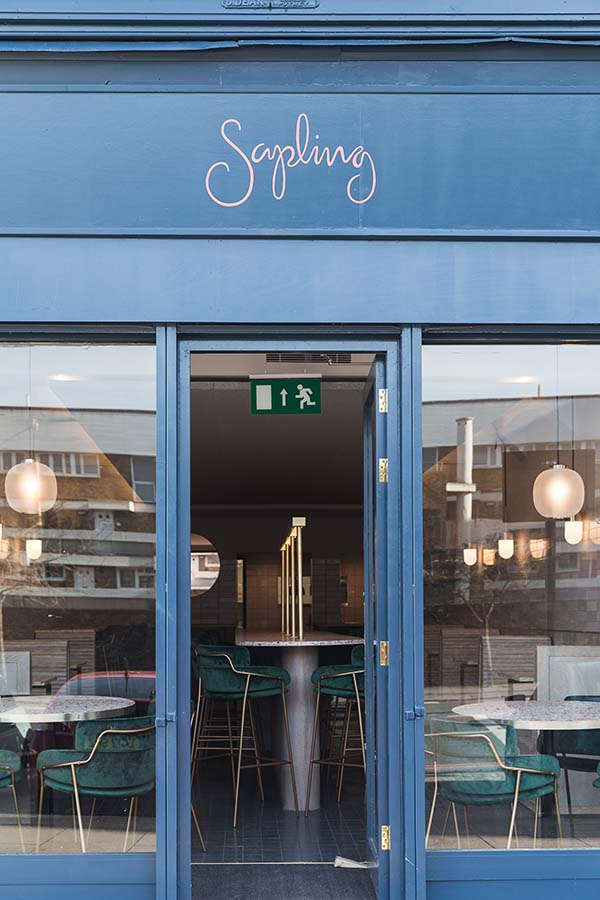 Sapling Dalston, London, Designed by Transit Studio and The Rebel Agency