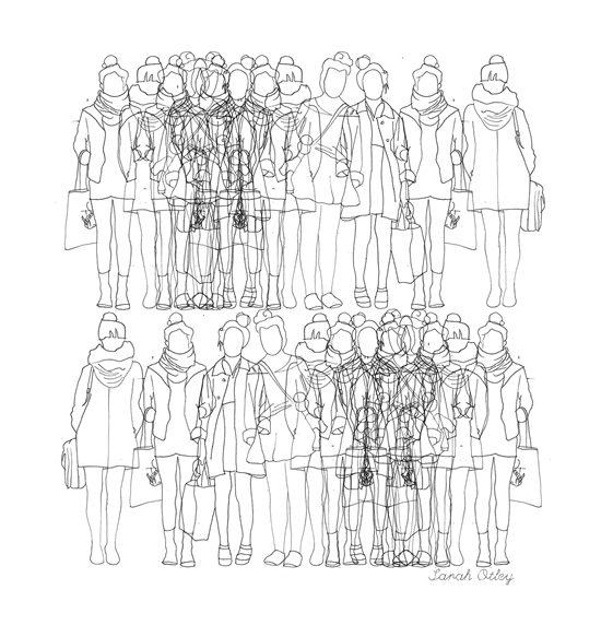 Sarah Otley's STHLM Sketches