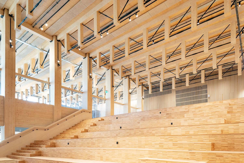 Sara Cultural Center Skellefteå Sweden Design by White Arkitekter