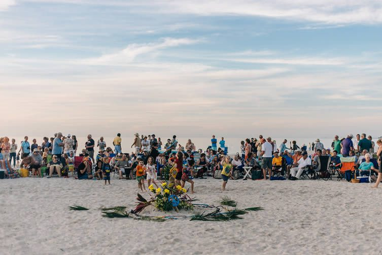 Nokomis Beach Drum Circle