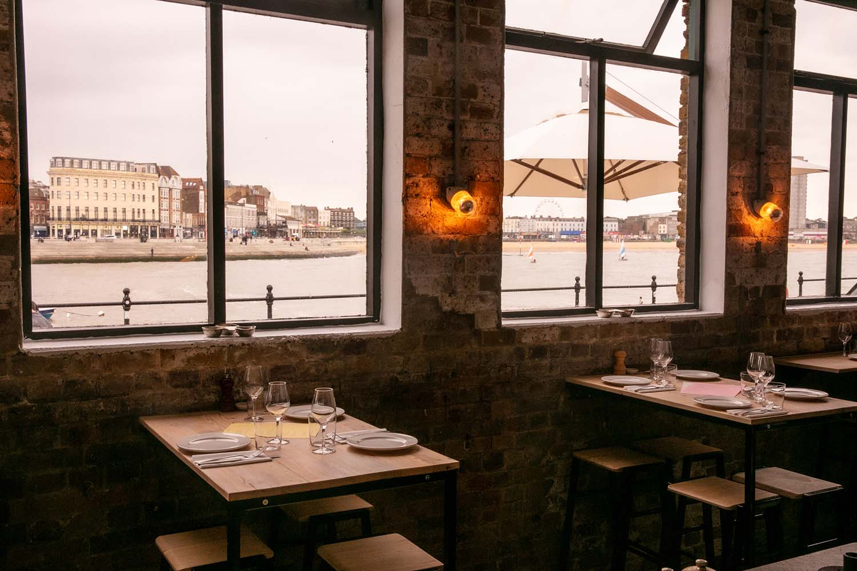 Sargasso Margate Restaurant and Bar by Brawn London w/ Matthew Herbert