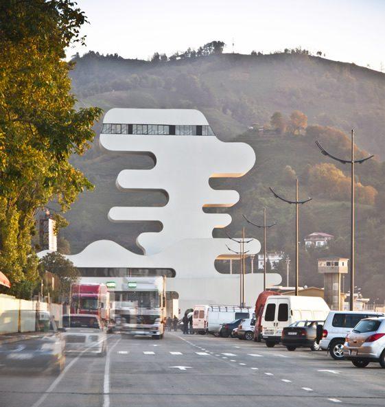 Sarpi Border Checkpoint, Georgia
