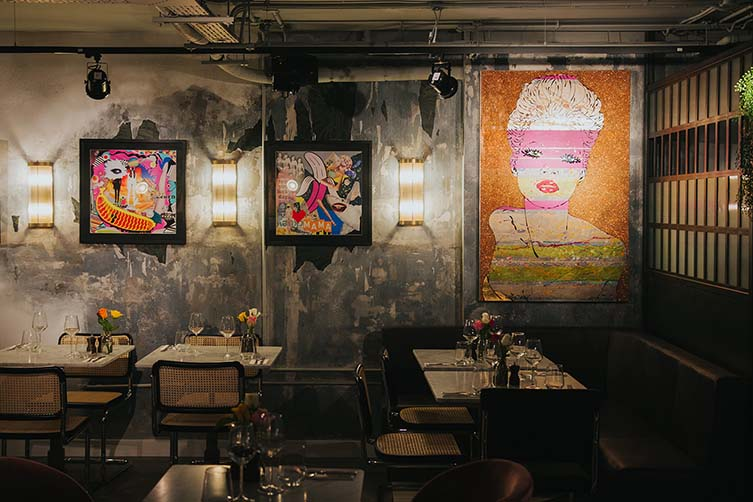 Scarlett Green Soho, Antipodean Restaurant London by Daisy Green Collection